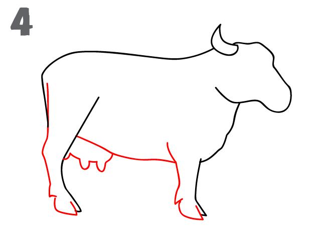 kako-nacrtati-kravu-slika-4