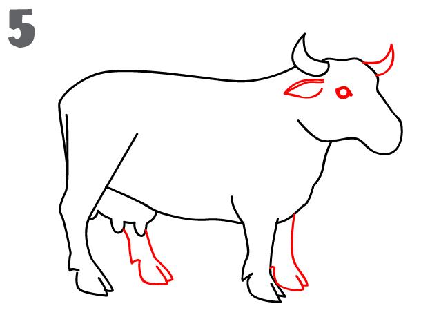 kako-nacrtati-kravu-slika-5