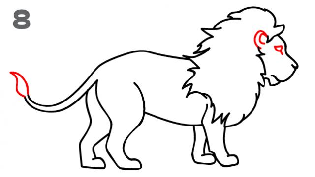 kako-nacrtati-lava-slika-8