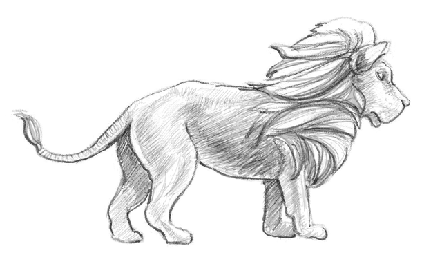 kako-nacrtati-lava-slika
