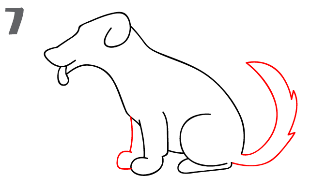 kako-nacrtati-psa-slika-7