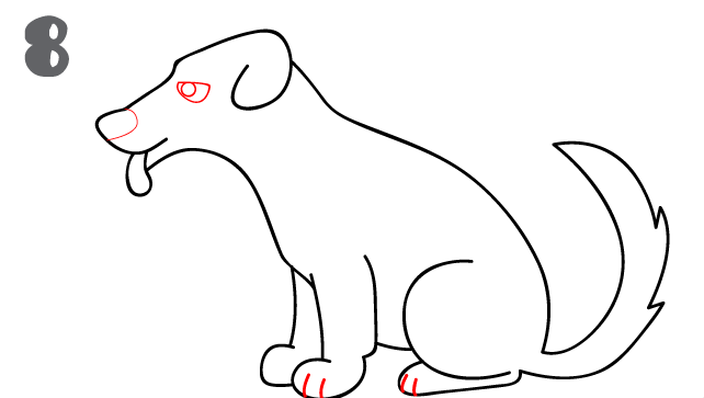 kako-nacrtati-psa-slika-8