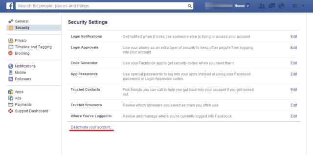 facebook-deaktivacija-naloga