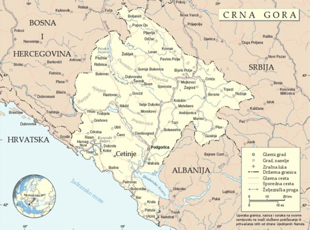 crna-gora-mapa-karta