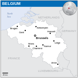 belgija-karta