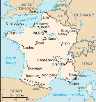 francuska-karta
