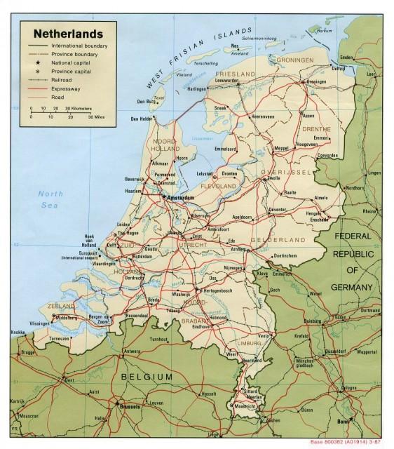 holandija-karta